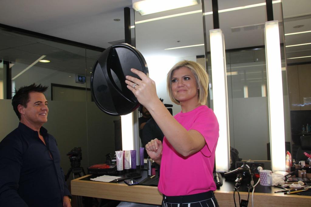 Sarah Harris (Studio10) loving her new makeover