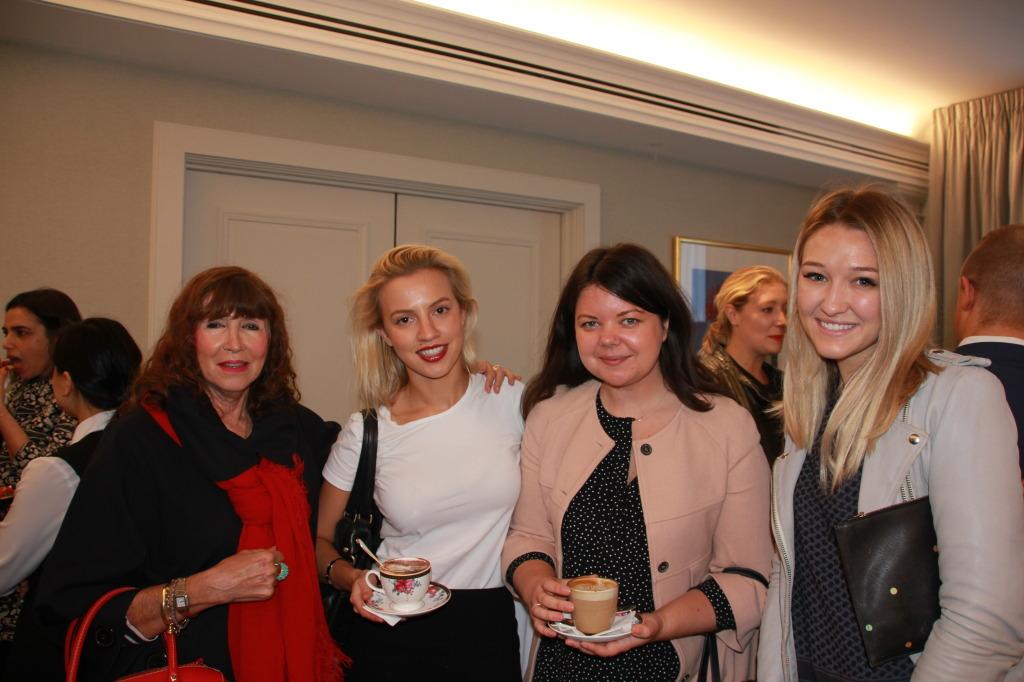 Ricky Allen (Vogue), Hayley D'Onofrio (InStyle), Katherine Moncrieff (New Idea), Sara McLean (ELLE)