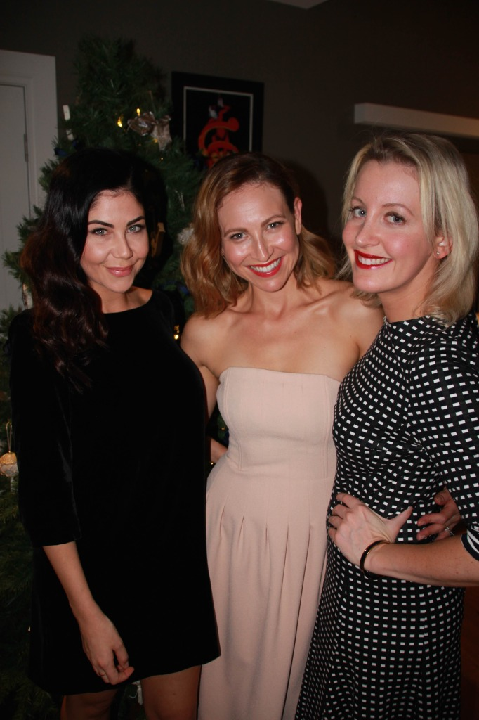 Leigh Campbell (Cosmopolitan), Yasemin Trollope (Beauty Editor), Aimee Leabon (marie claire)